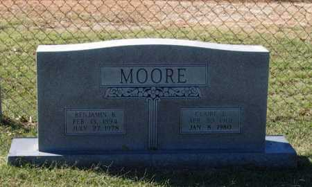 MOORE, BENJAMIN BEECHER - Lawrence County, Arkansas | BENJAMIN BEECHER MOORE - Arkansas Gravestone Photos