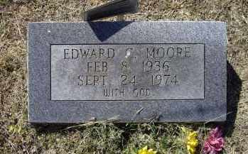 MOORE, EDWARD C. - Lawrence County, Arkansas | EDWARD C. MOORE - Arkansas Gravestone Photos