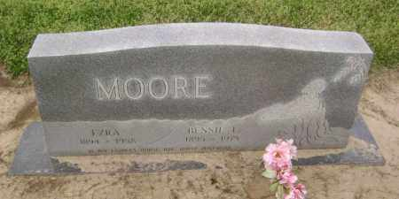 MOORE, EZRA - Lawrence County, Arkansas | EZRA MOORE - Arkansas Gravestone Photos