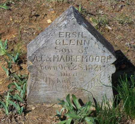 MOORE, ERSIL GLENN - Lawrence County, Arkansas | ERSIL GLENN MOORE - Arkansas Gravestone Photos