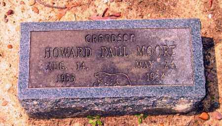 MOORE, HOWARD PAUL - Lawrence County, Arkansas | HOWARD PAUL MOORE - Arkansas Gravestone Photos