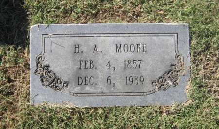 "MOORE, HENRY ALLEN ""H. A."" - Lawrence County, Arkansas 