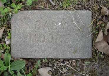 MOORE, INFANT - Lawrence County, Arkansas | INFANT MOORE - Arkansas Gravestone Photos