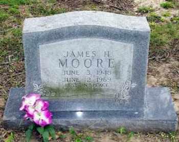 MOORE, JAMES H. - Lawrence County, Arkansas | JAMES H. MOORE - Arkansas Gravestone Photos