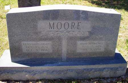 MOORE, LEONARD HARVEY - Lawrence County, Arkansas | LEONARD HARVEY MOORE - Arkansas Gravestone Photos