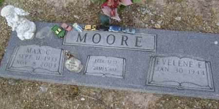 MOORE (VETERAN KOR), MAX C. - Lawrence County, Arkansas | MAX C. MOORE (VETERAN KOR) - Arkansas Gravestone Photos