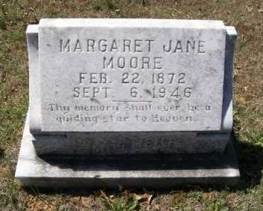 MOORE, MARGARET JANE - Lawrence County, Arkansas | MARGARET JANE MOORE - Arkansas Gravestone Photos