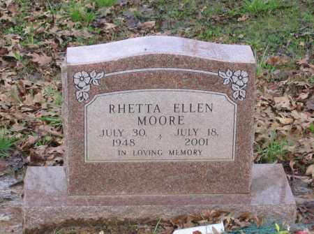 MOORE, RHETTA ELLEN - Lawrence County, Arkansas | RHETTA ELLEN MOORE - Arkansas Gravestone Photos