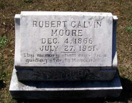 MOORE, ROBERT CALVIN - Lawrence County, Arkansas | ROBERT CALVIN MOORE - Arkansas Gravestone Photos