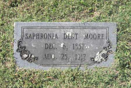 DENT MOORE, SAPHRONIA A. - Lawrence County, Arkansas | SAPHRONIA A. DENT MOORE - Arkansas Gravestone Photos