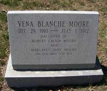 MOORE, VENA BLANCHE - Lawrence County, Arkansas | VENA BLANCHE MOORE - Arkansas Gravestone Photos