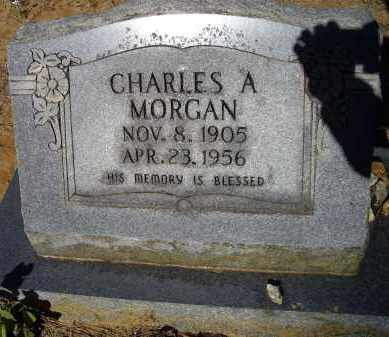 MORGAN, CHARLES A. - Lawrence County, Arkansas | CHARLES A. MORGAN - Arkansas Gravestone Photos