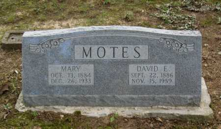 MOTES, MARY - Lawrence County, Arkansas | MARY MOTES - Arkansas Gravestone Photos