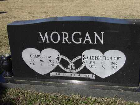 MORGAN, JR., GEORGE PARKER - Lawrence County, Arkansas | GEORGE PARKER MORGAN, JR. - Arkansas Gravestone Photos