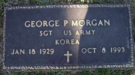MORGAN, JR. (VETERAN KOR), GEORGE PARKER - Lawrence County, Arkansas | GEORGE PARKER MORGAN, JR. (VETERAN KOR) - Arkansas Gravestone Photos