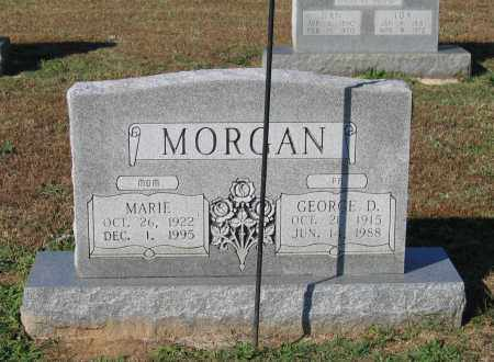 MORGAN, GEORGE DEWEY - Lawrence County, Arkansas | GEORGE DEWEY MORGAN - Arkansas Gravestone Photos