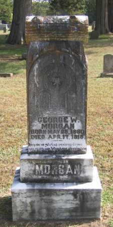 MORGAN, GEORGE W. - Lawrence County, Arkansas | GEORGE W. MORGAN - Arkansas Gravestone Photos