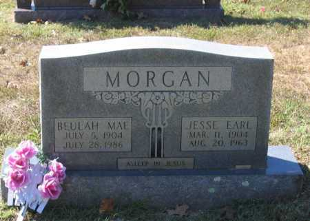 MORGAN, BEULAH MAE - Lawrence County, Arkansas | BEULAH MAE MORGAN - Arkansas Gravestone Photos