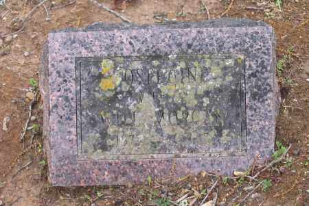 MORGAN, JOSEPHINE - Lawrence County, Arkansas | JOSEPHINE MORGAN - Arkansas Gravestone Photos