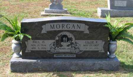 CLINTON MORGAN, LILLIE P. - Lawrence County, Arkansas | LILLIE P. CLINTON MORGAN - Arkansas Gravestone Photos