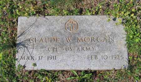 MORGAN (VETERAN), CLAUDE W. - Lawrence County, Arkansas | CLAUDE W. MORGAN (VETERAN) - Arkansas Gravestone Photos