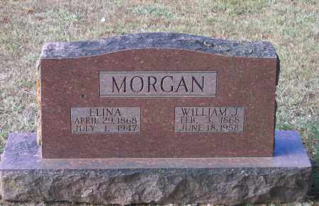 POWELL MORGAN, ELINA RILLA - Lawrence County, Arkansas | ELINA RILLA POWELL MORGAN - Arkansas Gravestone Photos