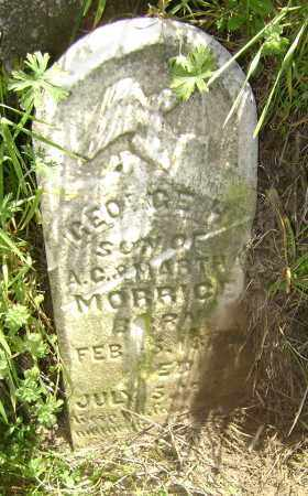MORRICE, GEORGE H, - Lawrence County, Arkansas | GEORGE H, MORRICE - Arkansas Gravestone Photos