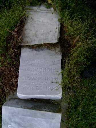 MORRIS, AMANDA J. - Lawrence County, Arkansas | AMANDA J. MORRIS - Arkansas Gravestone Photos