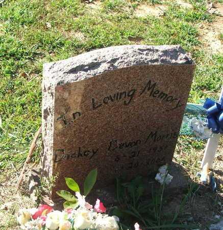 MORRIS, DICKEY DEVON - Lawrence County, Arkansas   DICKEY DEVON MORRIS - Arkansas Gravestone Photos