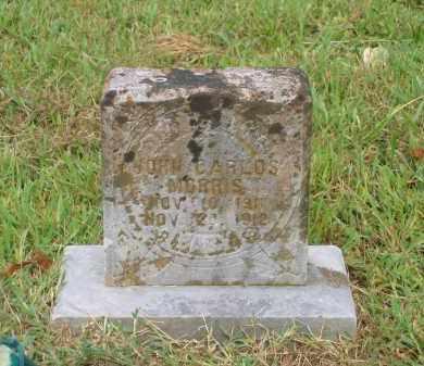 MORRIS, JOHN CARLOS - Lawrence County, Arkansas | JOHN CARLOS MORRIS - Arkansas Gravestone Photos