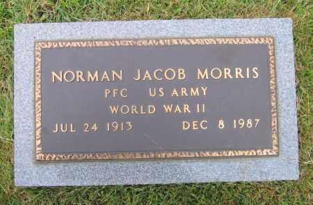 MORRIS (VETERAN WWII), NORMAN JACOB - Lawrence County, Arkansas | NORMAN JACOB MORRIS (VETERAN WWII) - Arkansas Gravestone Photos