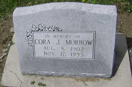 INGRAM MORROW, CORA JANE - Lawrence County, Arkansas | CORA JANE INGRAM MORROW - Arkansas Gravestone Photos