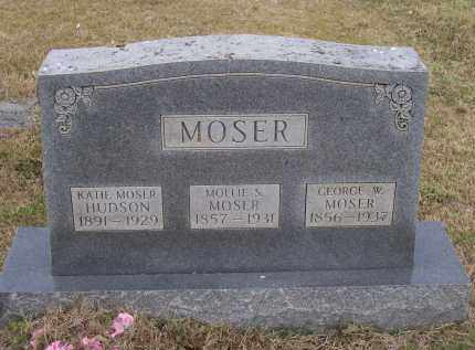 MOSER, GEORGE W. - Lawrence County, Arkansas | GEORGE W. MOSER - Arkansas Gravestone Photos