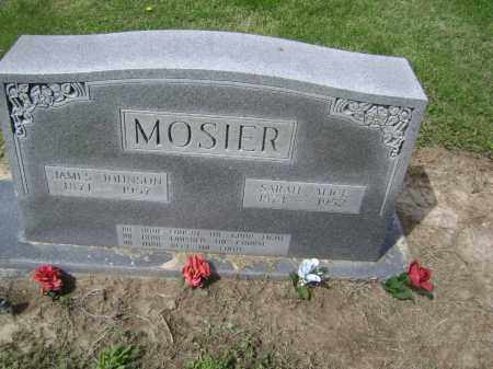 MOSIER, JAMES JOHNSON - Lawrence County, Arkansas | JAMES JOHNSON MOSIER - Arkansas Gravestone Photos