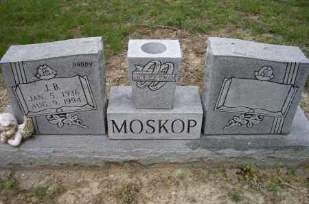 MOSKOP, J. B. - Lawrence County, Arkansas | J. B. MOSKOP - Arkansas Gravestone Photos