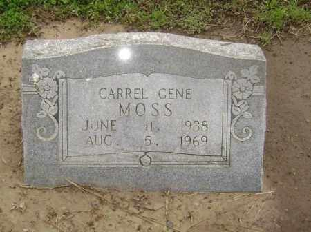 MOSS, CARREL GENE - Lawrence County, Arkansas | CARREL GENE MOSS - Arkansas Gravestone Photos