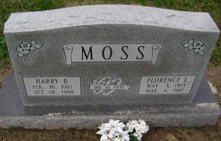 MOSS, FLORENCE LILLY - Lawrence County, Arkansas | FLORENCE LILLY MOSS - Arkansas Gravestone Photos