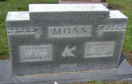 MOSS, WILLIAM ANDERSON - Lawrence County, Arkansas | WILLIAM ANDERSON MOSS - Arkansas Gravestone Photos