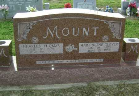 CULVER MOUNT, MARY ALENE - Lawrence County, Arkansas | MARY ALENE CULVER MOUNT - Arkansas Gravestone Photos