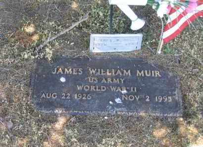 MUIR (VETERAN WWII), JAMES WILLIAM - Lawrence County, Arkansas | JAMES WILLIAM MUIR (VETERAN WWII) - Arkansas Gravestone Photos