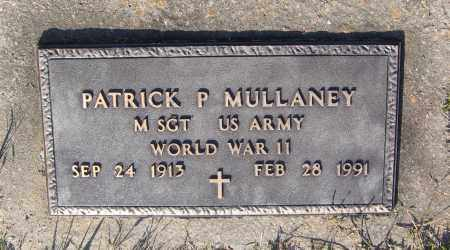 MULLANEY (VETERAN WWII), PATRICK P. - Lawrence County, Arkansas | PATRICK P. MULLANEY (VETERAN WWII) - Arkansas Gravestone Photos