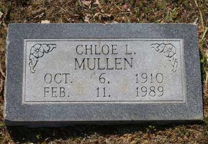 MULLEN, CHLOE L. - Lawrence County, Arkansas | CHLOE L. MULLEN - Arkansas Gravestone Photos