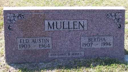 MULLEN, ELDER, AUSTIN - Lawrence County, Arkansas | AUSTIN MULLEN, ELDER - Arkansas Gravestone Photos