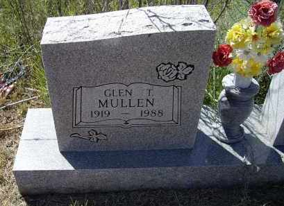 MULLEN, GLEN THOMAS - Lawrence County, Arkansas | GLEN THOMAS MULLEN - Arkansas Gravestone Photos