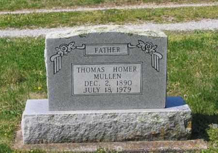 MULLEN, THOMAS HOMER - Lawrence County, Arkansas | THOMAS HOMER MULLEN - Arkansas Gravestone Photos