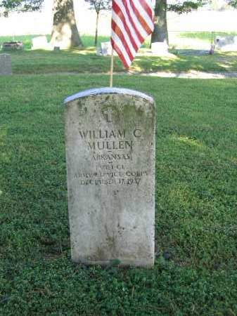 MULLEN (VETERAN), WILLIAM C. - Lawrence County, Arkansas | WILLIAM C. MULLEN (VETERAN) - Arkansas Gravestone Photos