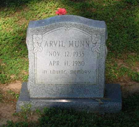 MUNN, ARVIL - Lawrence County, Arkansas | ARVIL MUNN - Arkansas Gravestone Photos