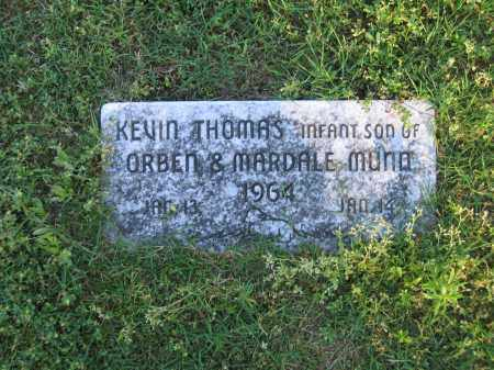 MUNN, KEVIN THOMAS - Lawrence County, Arkansas | KEVIN THOMAS MUNN - Arkansas Gravestone Photos