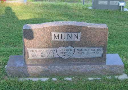 "MUNN, SR., ORBEN DEAN ""BUD"" - Lawrence County, Arkansas | ORBEN DEAN ""BUD"" MUNN, SR. - Arkansas Gravestone Photos"