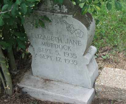 MURDOCK, ELIZABETH JANE - Lawrence County, Arkansas | ELIZABETH JANE MURDOCK - Arkansas Gravestone Photos